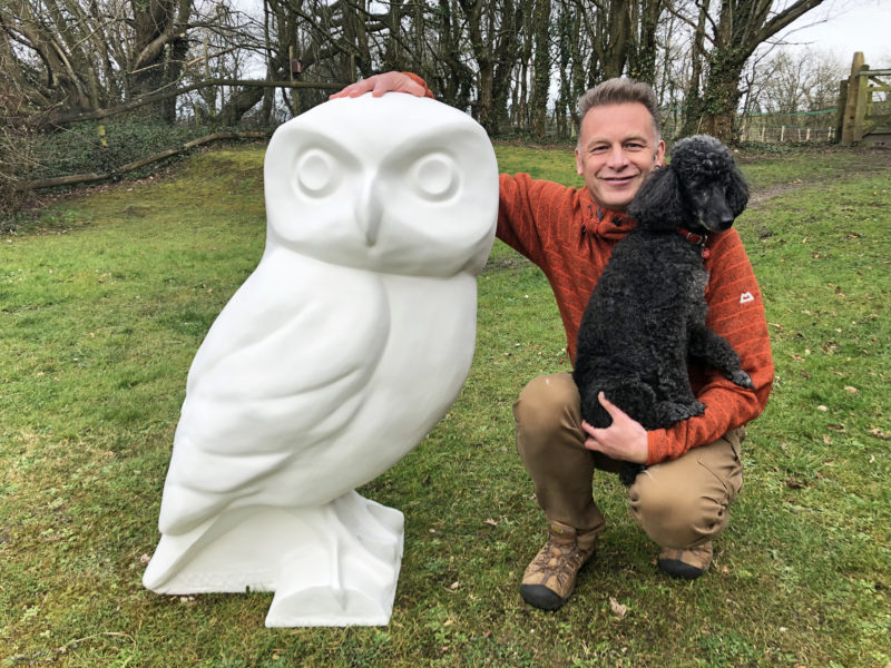 Wildlife TV Presenters become latest 'Owlbassadors'!