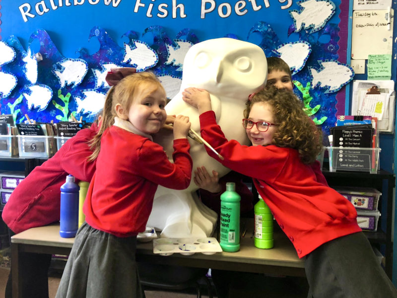 Twerton Infant School welcomes Owlet