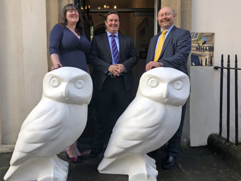MHA Monahan chooses Bath artists to decorate their Owls