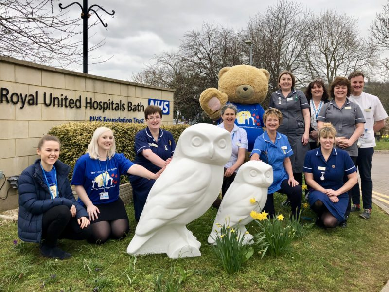 Minerva's Owls Swoop into the RUH to help raise funds for their new Cancer Centre