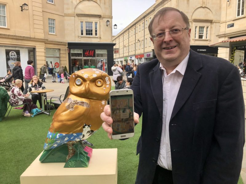 Bath Tech Firm Blispa creates interactive Owls of Bath App