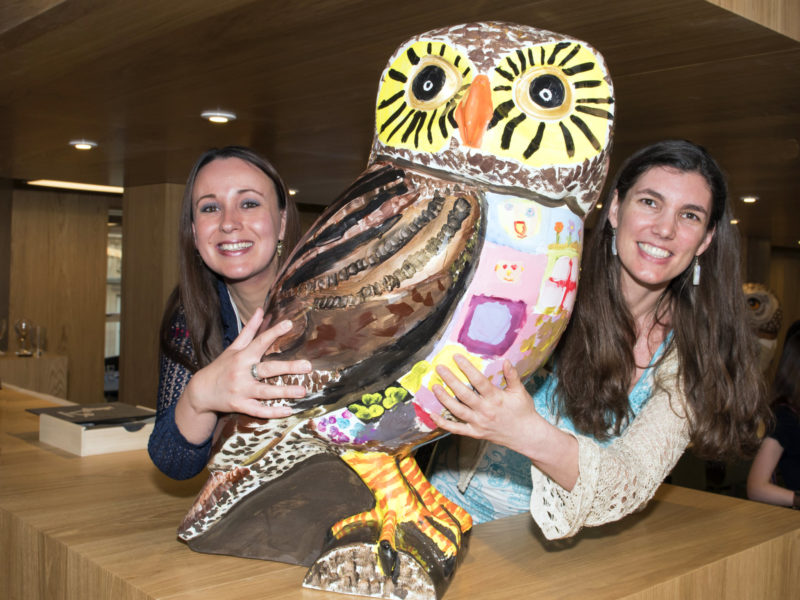 Owl sponsors 'Meet the Owls' evening a hoot!