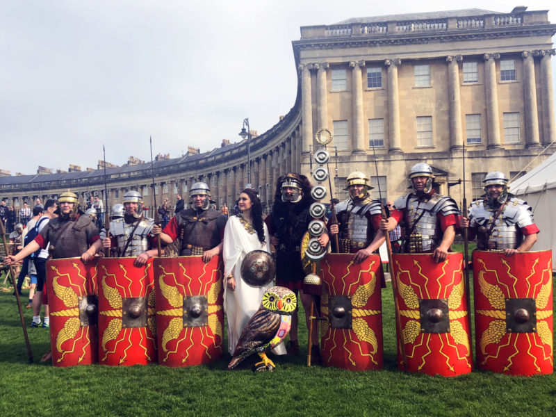 World Heritage Day with Romans, Goddess Minerva and Owls