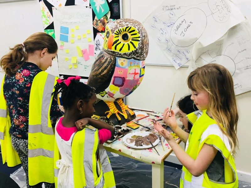 Bath Young Carers Finish Ono the Owlet