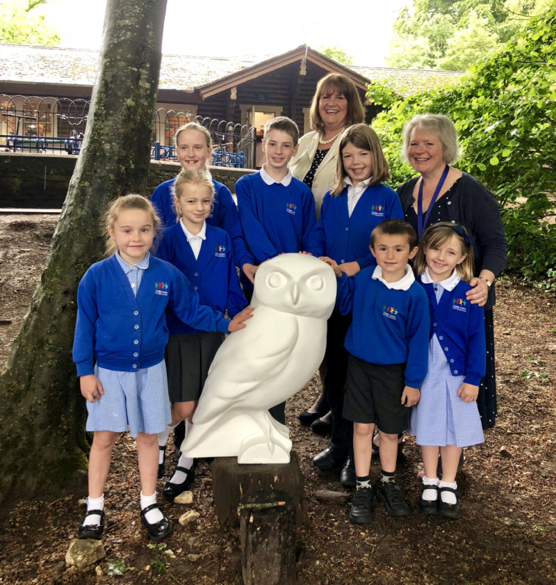 Curo's owl comes home to roost in Combe Down