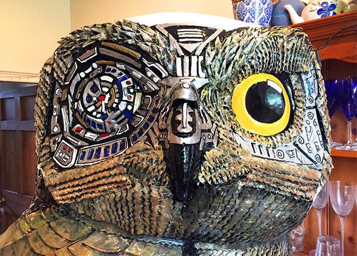 Amazing Owl Designs flock to Nest HQ