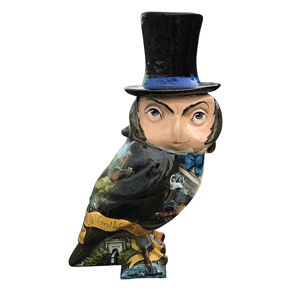 IsamBIRD Kingdom BrunOWL (£2,200)