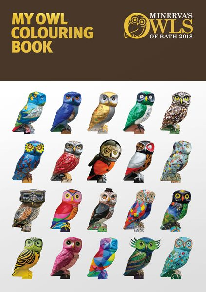 Owl Colouring Books now on sale