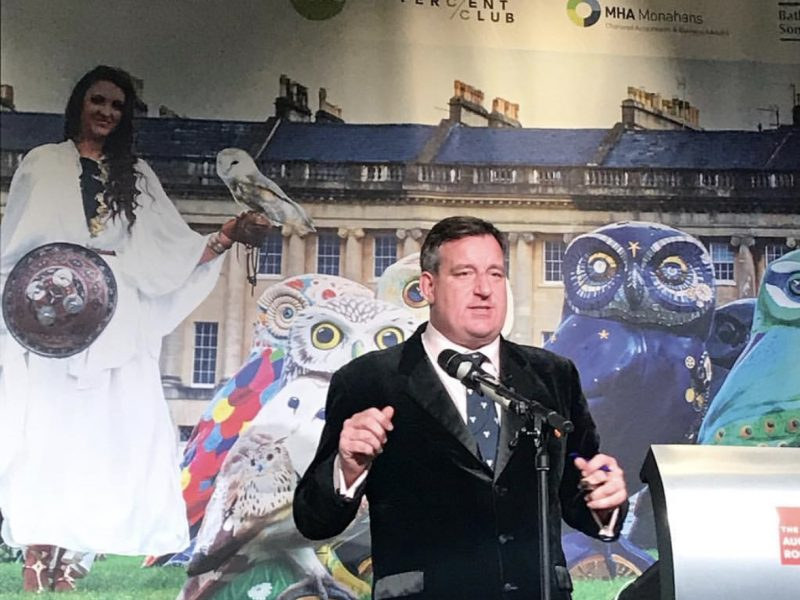 Owls fly the Nest at charity auction! £139,200 raised