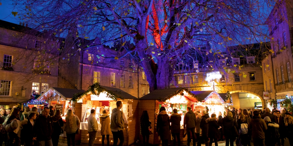 Owls land at Bath Christmas Market